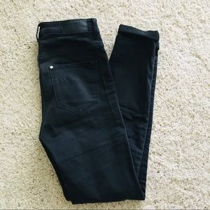 Super skinny high rise jeggings from H&M
